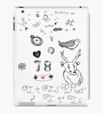 Louis Tattoos iPad Case/Skin