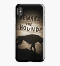 Sherlock Beware the Hound iPhone Case/Skin