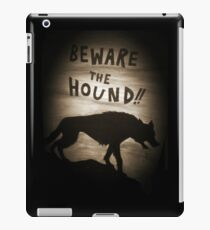 Sherlock Beware the Hound iPad Case/Skin