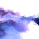 Purple Sky, White Light - abstract by micklyn