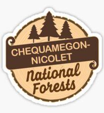 Chequamegon-Nicolet National Forests Sticker