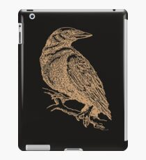 Crow Illustration - Gouache iPad Case/Skin