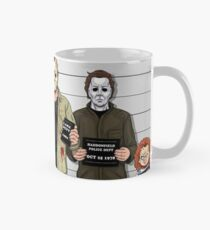 Horror Collage Funny Killer Mugshot Mug