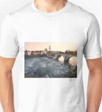 Roman Bridge - Verona Unisex T-Shirt