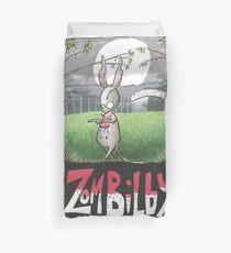 Zombilby (Zombie Bilby) Duvet Cover