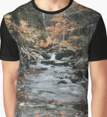 Autumn Creek Graphic T-Shirt