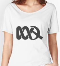 Red ABC Women's Relaxed Fit T-Shirt