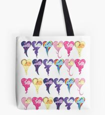 Heart After Heart Tote Bag