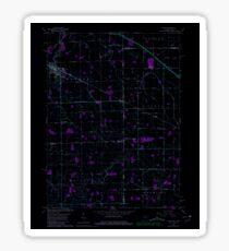 USGS TOPO Map Indiana IN Dixon 156471 1960 24000 Inverted Sticker