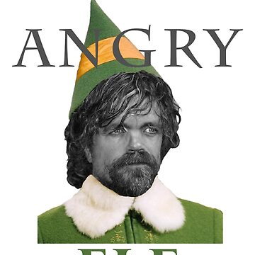Angry Elf  by Kelly-Ferguson