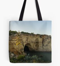 Sea Cave and Agave Bloom Spike - the Magic of Algarve Portugal Tote Bag