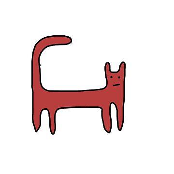 Cat by lottejulia