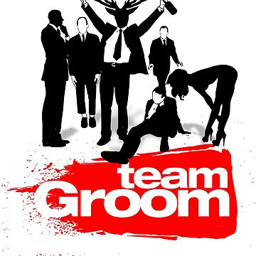 Team Groom - Bachelor Party, Stag Do by gorillamerch