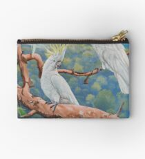 Sulphur-Crested Cockatoos Studio Pouch