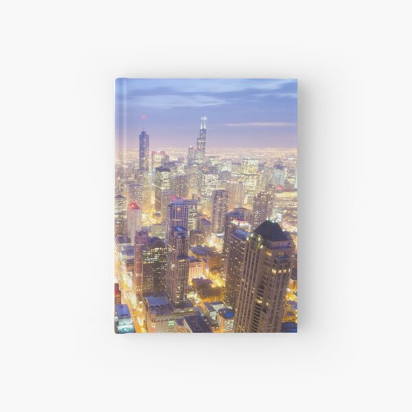 Chicago Skyline Hardcover Journal