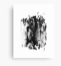 Abstract Dry Brush Canvas Print