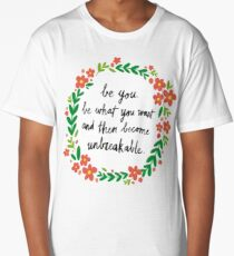 Unbreakable Long T-Shirt