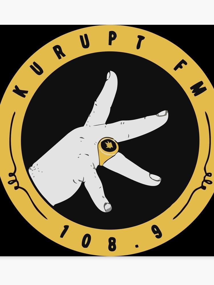 69bf31102de8 Kurupt Fm Logo Merchandise
