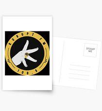 Kurupt Fm Logo Merchandise Postcards