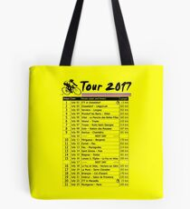 Tour de France 2017 Tote Bag