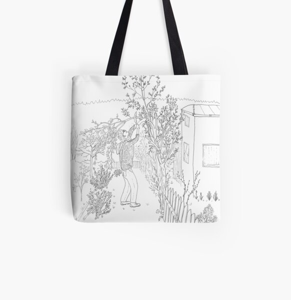 beegarden.works 003 All Over Print Tote Bag