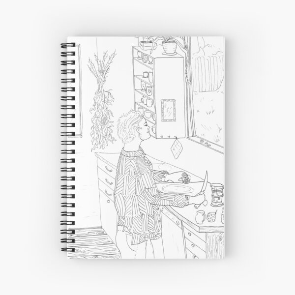beegarden.works 002 Spiral Notebook