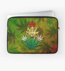 Keep Calm and...Marijuana Leaf! Laptop Sleeve