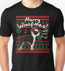 Boston Terrier Christmas Sweater.Boston Terrier Christmas T Shirts Redbubble