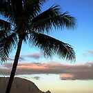 Sunrise Over Puu Poa Beach by Caleb Ward