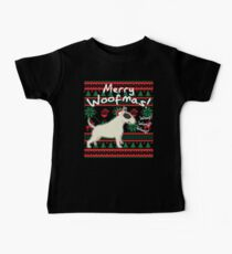 Bull Terrier Merry Woofmas, Ugly Christmas Sweater Kids Clothes