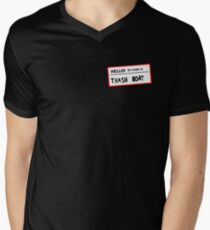 Trashboat is my name now dude! Mens V-Neck T-Shirt