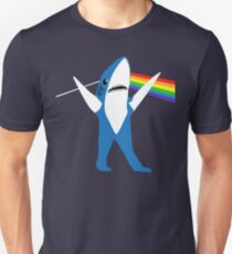 Left Shark of the Moon Unisex T-Shirt