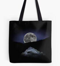 Snowdon Path Full Moon Tote Bag