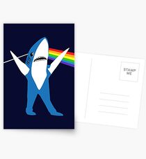 Left Shark of the Moon Postcards
