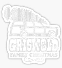 Griswold Christmas T Shirt Sticker