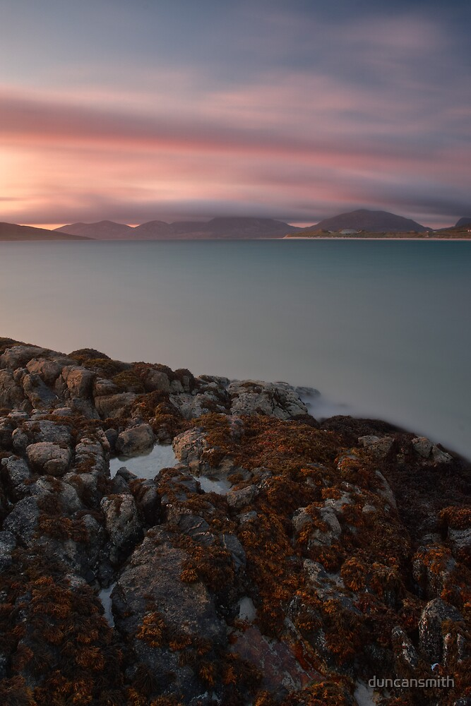 Harris Mountains Sunset by duncansmith