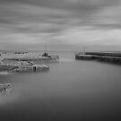 Charlestown harbour Cornwall by eddiej