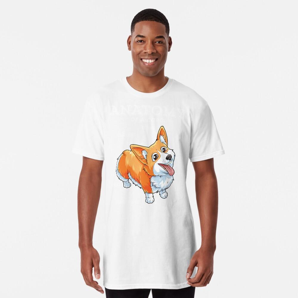0a87b66b69e Anatomy of a Corgi T-Shirt Funny Corgis Dog Puppy Shirt