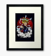 SECOND LEVEL POWER Framed Print