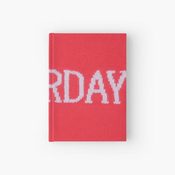 Red Week Hardcover Journal