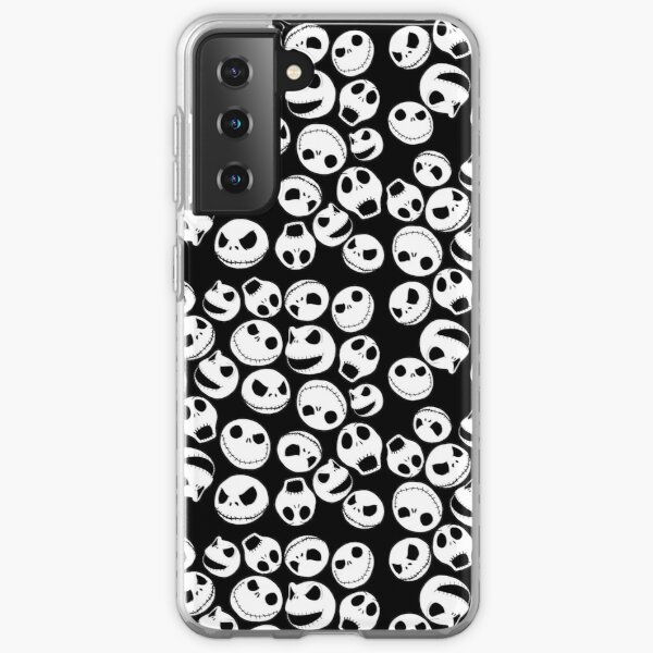Jack Skellington Pattern Coque souple Samsung Galaxy
