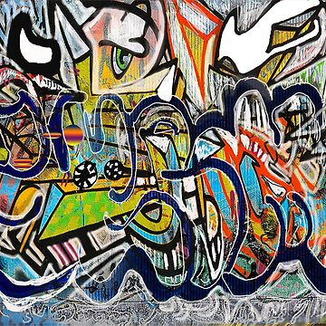 graffiti wall by jackpoint23