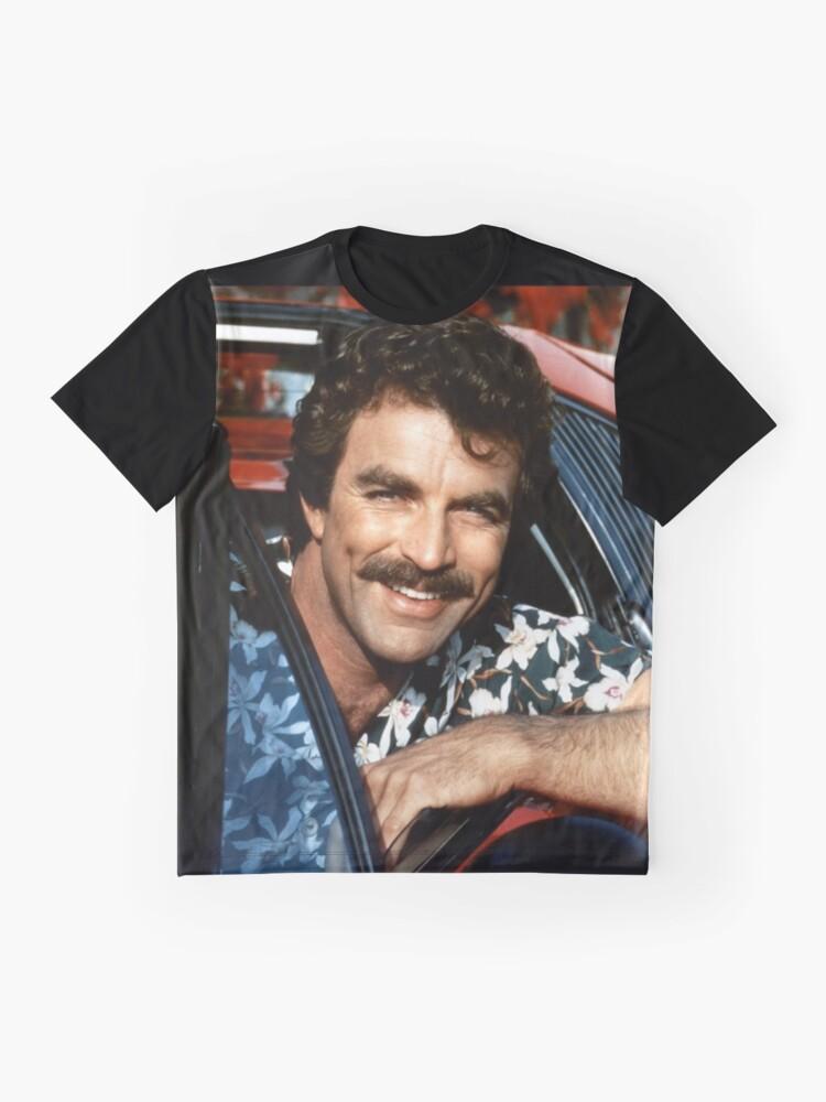 Alternate view of Thomas Magnum P.I Graphic T-Shirt