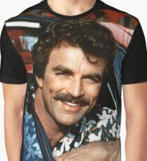 Thomas Magnum P.I Graphic T-Shirt