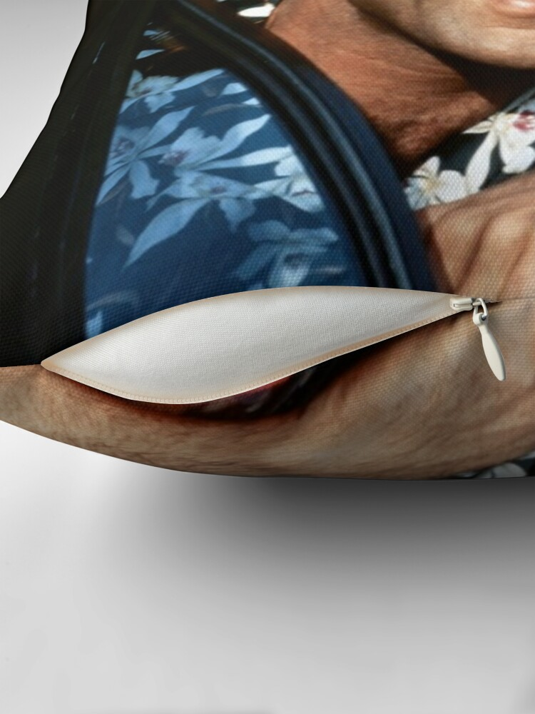 Alternate view of Thomas Magnum P.I Throw Pillow
