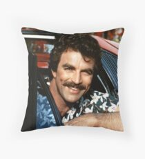 Thomas Magnum P.I Throw Pillow
