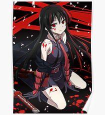 Blood blossom - Akame ga kill Poster