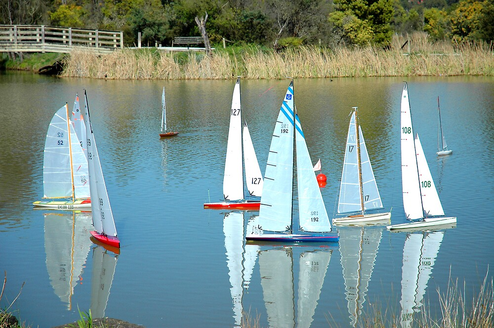 Boat Race by Roger Olasiman