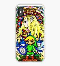 Zelda Wind Waker Stained Glass  iPhone Case