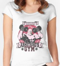 Strong Arm Gym Women's Fitted Scoop T-Shirt